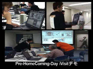 Pre-HomeComingDay iVisitデモ